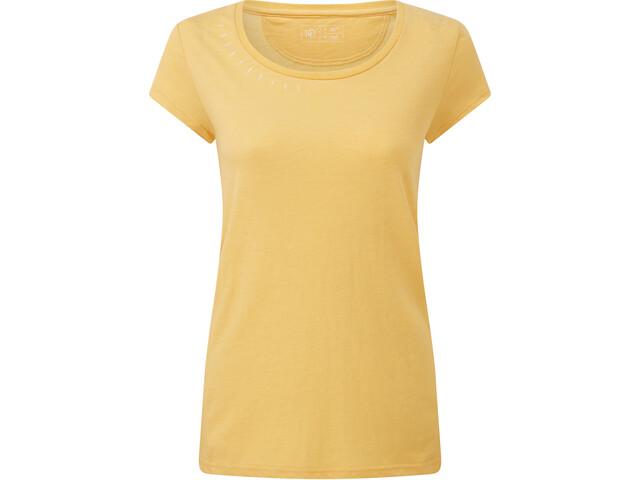 tentree Timberline Maglietta a maniche corte Donna, giallo